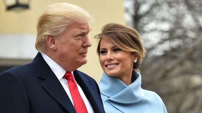 Tân Tổng thống Mỹ Donald Trump và Đệ nhất phu nhân Mỹ Melania Trump