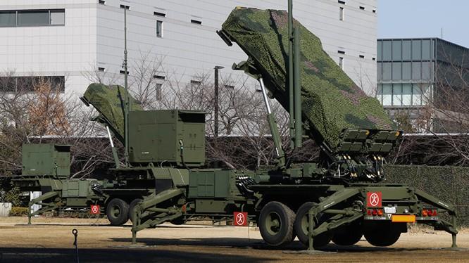 Tên lửa phòng thủ của Nhật Bản.