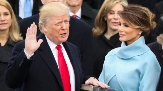 Ngày 20 tháng 1 năm 2017, ông Donald Trump nhậm chức, trở thành Tổng thống Mỹ thứ 45. Ảnh: New Straits Times