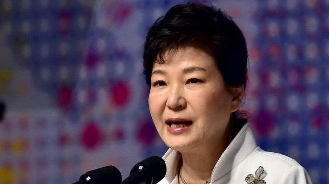 Tổng thống Hàn Quốc, bà Park Geun-hye. Ảnh: The Indian Express