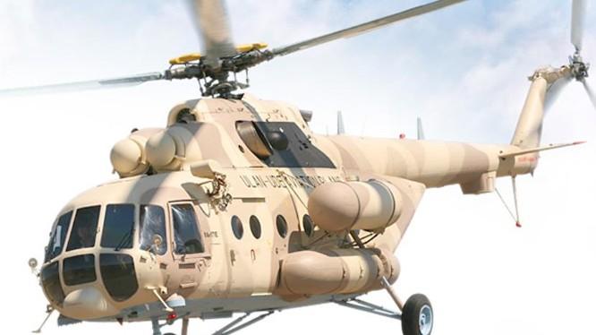 Máy bay trực thăng Mi-17V-5 của Nga. Ảnh: Sputnik