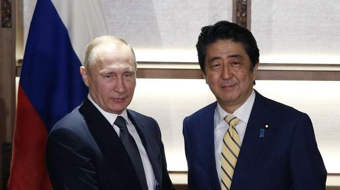 Tháng 12 năm 2016, Tổng thống Nga Vladimir Putin thăm Nhật Bản. Ảnh: Washington Times