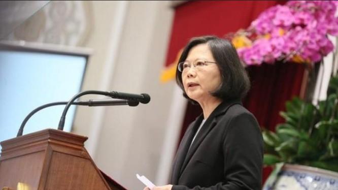 Nhà lãnh đạo Đài Loan, bà Thái Anh Văn. Ảnh: newsgogogo