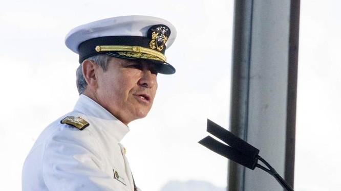 Đô đốc Harry Harris, Tư lệnh Bộ Tư lệnh Thái Bình Dương Mỹ. Ảnh: Washington Times