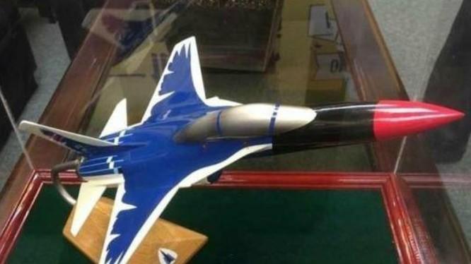 Mô hình máy bay huấn luyện XT-5 Lam Thước của Đài Loan. Ảnh: Cankao