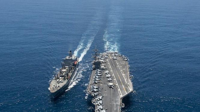 Tàu sân bay động cơ hạt nhân Carl Vinson, Hạm đội 3, Hải quân Mỹ (ảnh tư liệu)