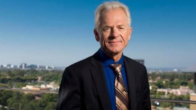 Ông Peter Navarro, Chủ tịch Hội đồng Thương mại quốc gia Mỹ. Ảnh: The Telegraph