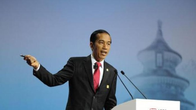 Tổng thống Indonesia Joko Widodo. Ảnh: Sina