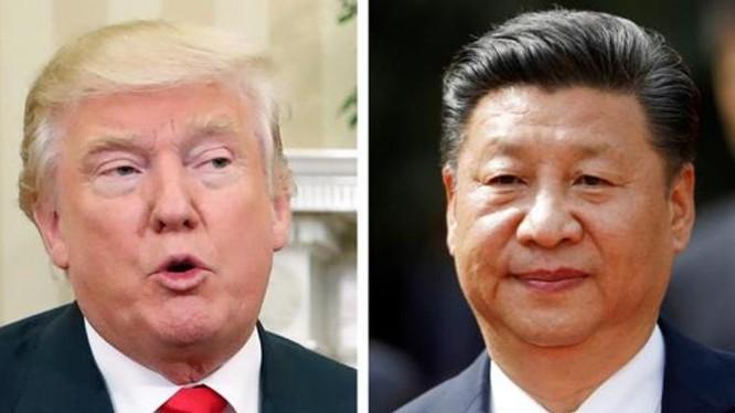 Tổng thống Mỹ Donald Trump và Chủ tịch Trung Quốc Tập Cận Bình. Ảnh: Thời báo Công thương, Đài Loan.