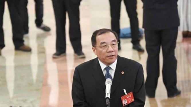 Ông Dương Hiểu Độ, Trưởng Ban Giám sát, Quốc vụ viện Trung Quốc. Ảnh: CCDI