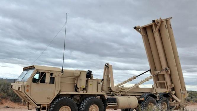 Hệ thống phòng thủ khu vực tầm cao đoạn cuối (THAAD) Mỹ (ảnh tư liệu)