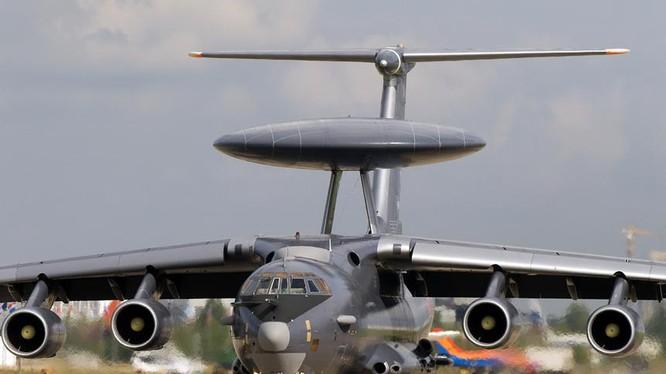 Máy bay cảnh báo sớm A-50U Nga. Ảnh: Airliners