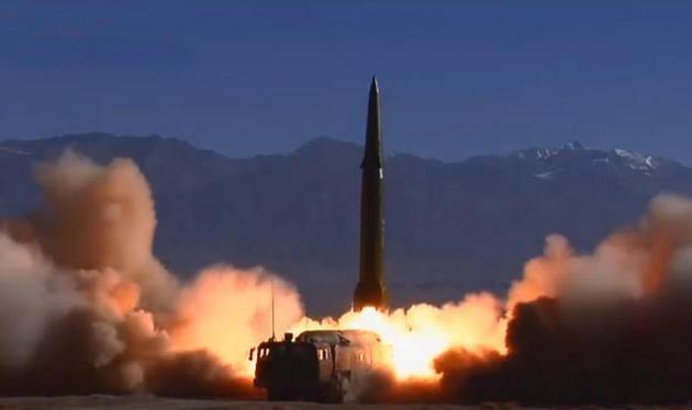 Tên lửa đạn đạo Đông Phong-16 Trung Quốc. Ảnh: QQ