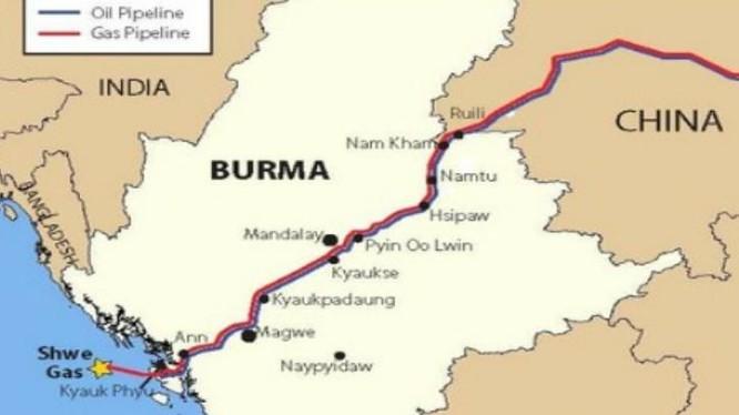 Trung Quốc tái khởi động dự án đường ống dẫn dầu ở Myanmar (ảnh tư liệu)