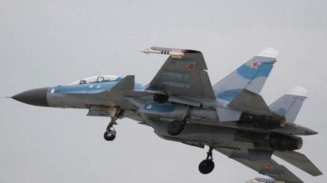 Máy bay chiến đấu Su-35 Nga. Ảnh: Sina