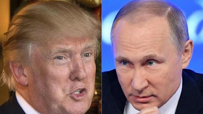 Mỹ và Nga sẽ xảy ra xung đột quân sự trực tiếp ở Syria và Trung Đông? Tổng thống Mỹ Donald Trump sẽ đối đầu trực tiếp với Tổng thống Nga Vladimir Putin? Ảnh: The Telegraph