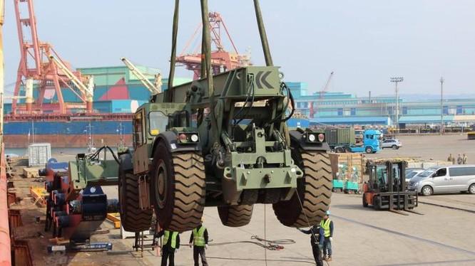 Mỹ tăng quân ở bán đảo Triều Tiên. Ảnh: Sina