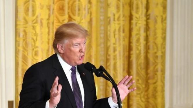 Tổng thống Mỹ Donald Trump. Ảnh: Tân Hoa xã