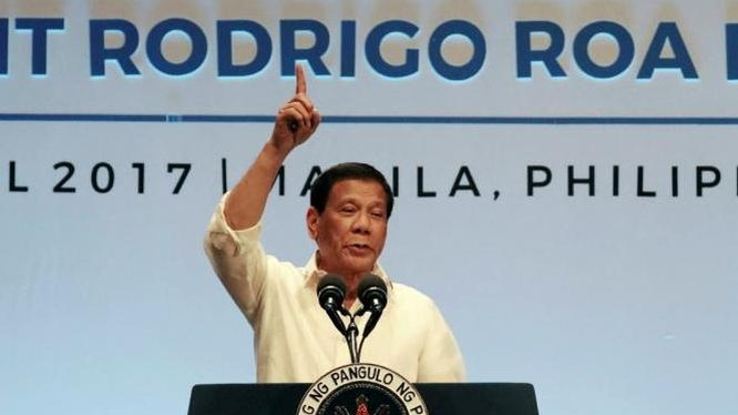 Tổng thống Philippines Rodrigo Duterte. Ảnh: New York Daily News