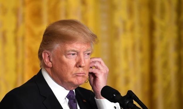 Tổng thống Mỹ Donald Trump đã không thực hiện một số cam kết trong tranh cử. Ảnh: Cankao