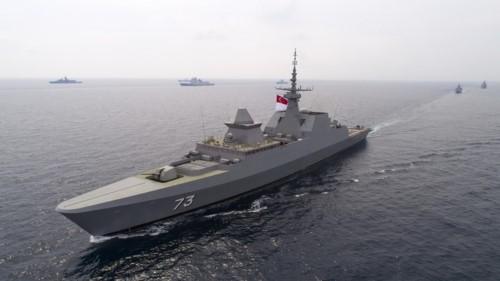 Tàu RSS Supreme lớp Formidable của Hải quân Singapore