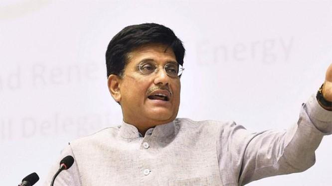 Bộ trưởng Điện lực Ấn Độ Piyush Goyal