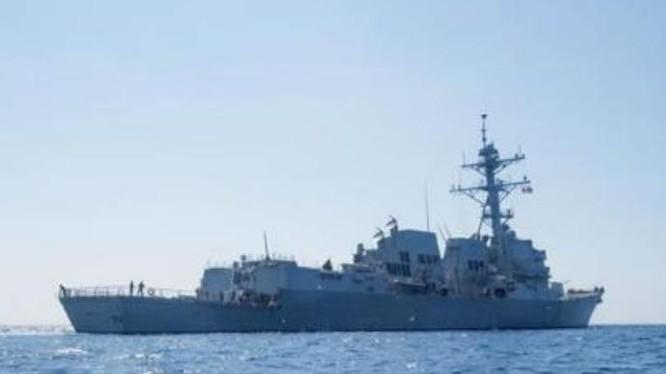 Chiến hạm Mỹ đã tiếp tục thực hiện tuần tra tự do hàng hải ở Biển Đông