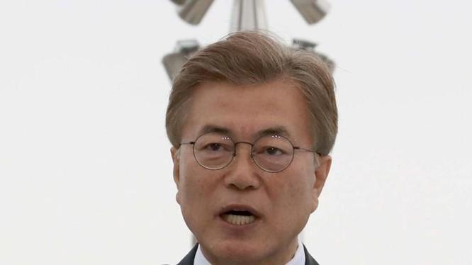 Tổng thống Hàn Quốc Moon Jae-in. Ảnh: South China Morning Post