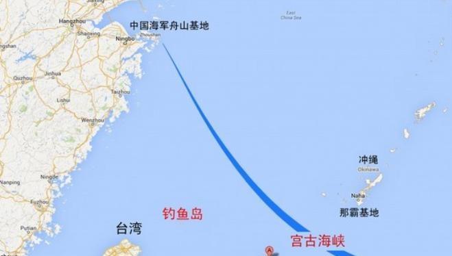 """Hải quân Trung Quốc ngày càng nỗ lực """"chọc thủng"""" chuỗi đảo thứ nhất, vươn ra Tây Thái Bình Dương."""