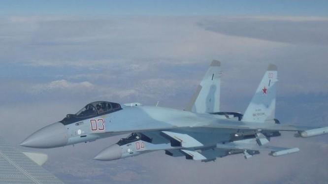 Máy bay chiến đấu Su-35S Nga. Ảnh: Cankaof