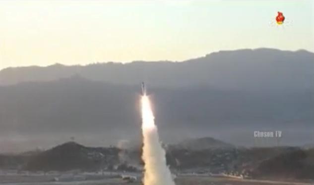 Ngày 12/2/2017, Triều Tiên phóng tên lửa đạn đạo tầm trung Pukguksong-2. Ảnh: Sputnik