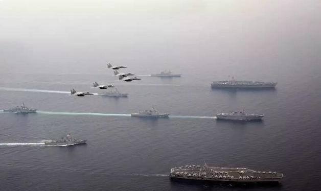 Gần đây, quân đội Mỹ - Nhật tiến hành tập trận quy mô lớn. Ảnh: Sohu