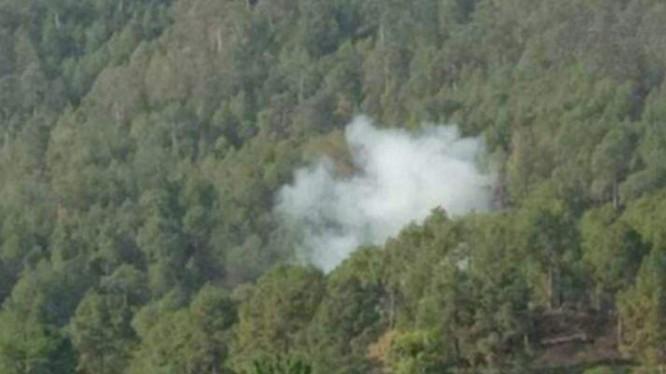 Xung đột Trung - Ấn ở Kashmir. Ảnh: Sina