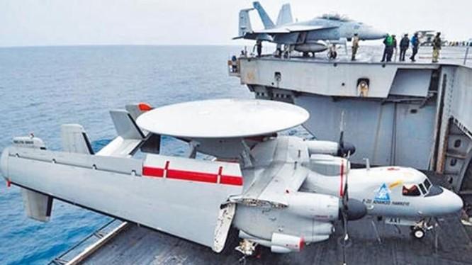 Máy bay cảnh báo sớm KJ-600 Trung Quốc. Ảnh: Chinatimes.