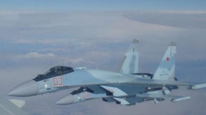 Máy bay chiến đấu Su-35 Nga. Ảnh: Cankao.
