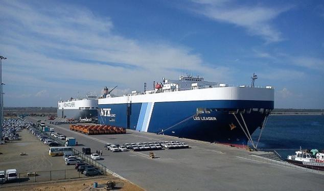 Cảng nước sâu Hambantotan của Sri Lanka, sẽ do Trung Quốc kiểm soát. Ảnh: Business Standard.