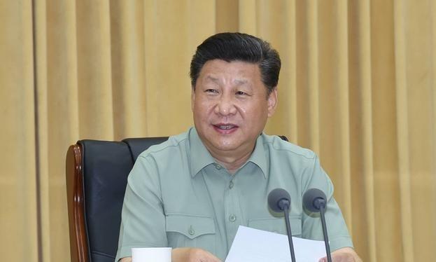 Chủ tịch Trung Quốc Tập Cận Bình sẽ tham gia lễ duyệt binh hôm nay. Ảnh: Tân Hoa xã