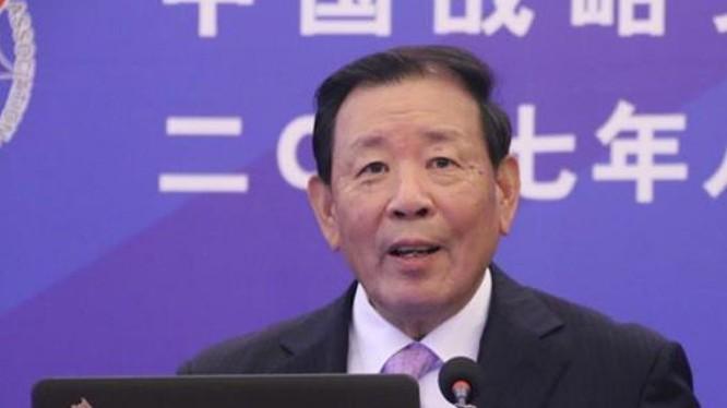 La Viện, Hội trưởng Hội xúc tiến văn hóa chiến lược Trung Quốc. Ảnh: CRNTT.