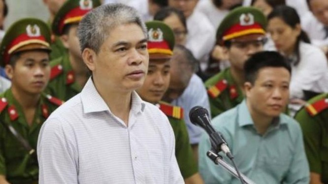 Nguyễn Xuân Sơn, nguyên Chủ tịch Hội đồng quản trị PVN. Ảnh: Sohu.