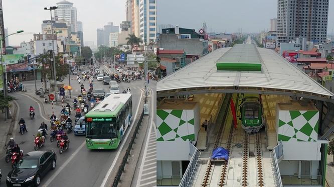 Tuyến đường sắt đô thị trên cao Cát Linh-Hà Đông dự kiến được đưa vào vận hành năm 2018