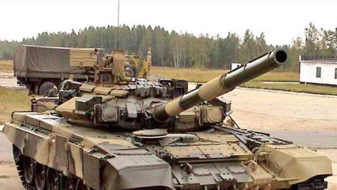 Xe tăng chiến đấu T-90S do Nga chế tạo. Ảnh: Guancha.