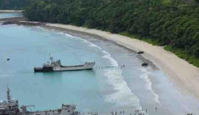 Quân đội Ấn Độ tiến hành tập trận quy mô lớn ở quần đảo Andaman - Nicobar. Ảnh: Times Now.