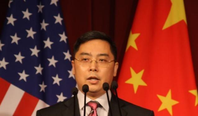 Công sứ Trung Quốc tại Mỹ Lý Khắc Tân. Ảnh: Sina.