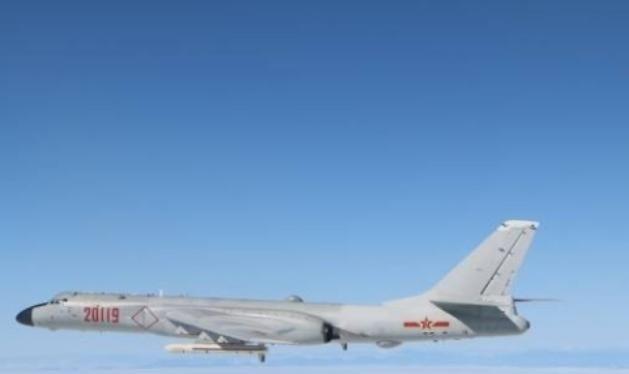 Máy bay ném bom H-6 Trung Quốc. Ảnh: Huanqiu