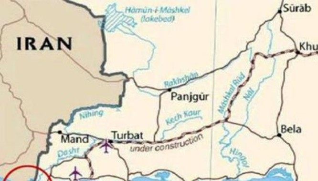 Trung Quốc muốn xây dựng căn cứ hải quân ở bán đảo Jiwani, Pakistan. Ảnh: Sina.