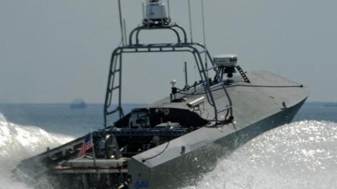 Tàu không người lái của Công ty Textron, Mỹ. Ảnh: Kongjun.