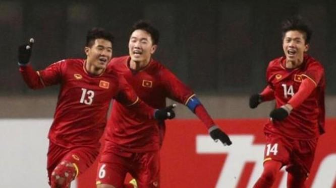 U23 Việt Nam giành chiến thắng trước đội bóng Iraq.