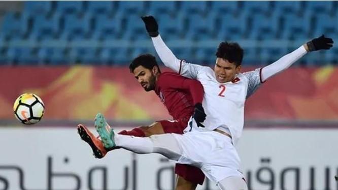 Các cầu thủ U23 Việt Nam chiến đấu ngoan cường qua từng trận đấu. Ảnh: Sohu.