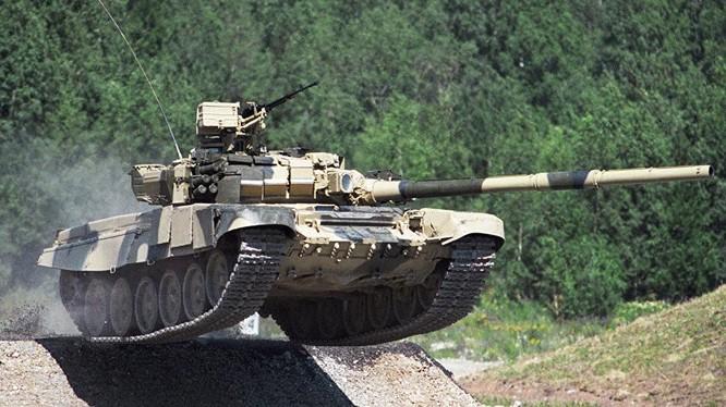 Xe tăng chiến đấu T-90S do Nga chế tạo. Ảnh: Sputnik.