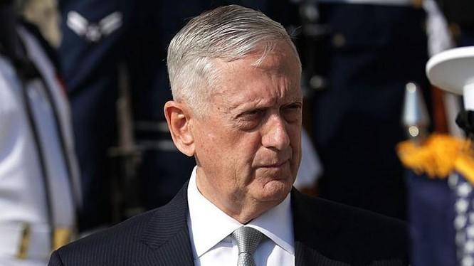 Tháng 1/2018, Bộ trưởng Quốc phòng Mỹ công bố chiến lược quốc phòng mới, tập trung vào ứng phó Trung Quốc và Nga. Ảnh: Business Insider.